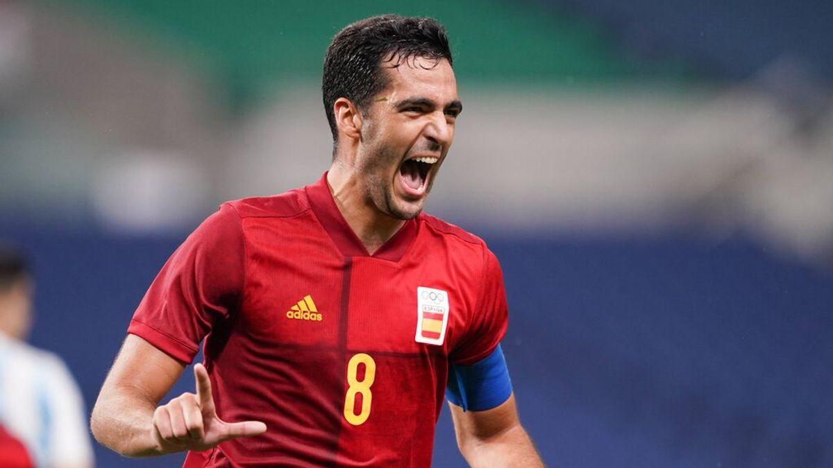 España empata con Argentina (1-1) y pasa a cuartos como primera de grupo