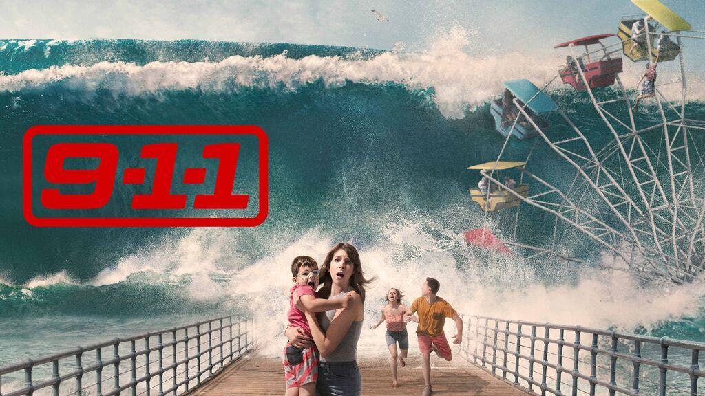 Un tsunami pone en jaque al equipo de emergencias, en el arranque de la tercera temporada de '9-1-1' en Cuatro