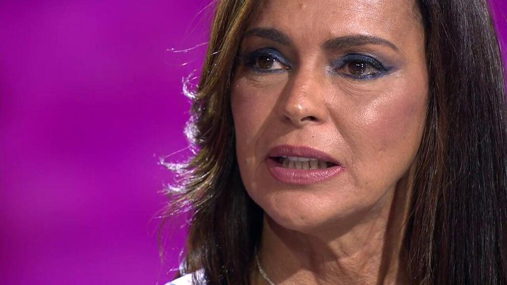 """Olga Moreno, sobre Rocío Carrasco: """"Espero que abra los ojos y vea que sus hijos están ahí"""""""