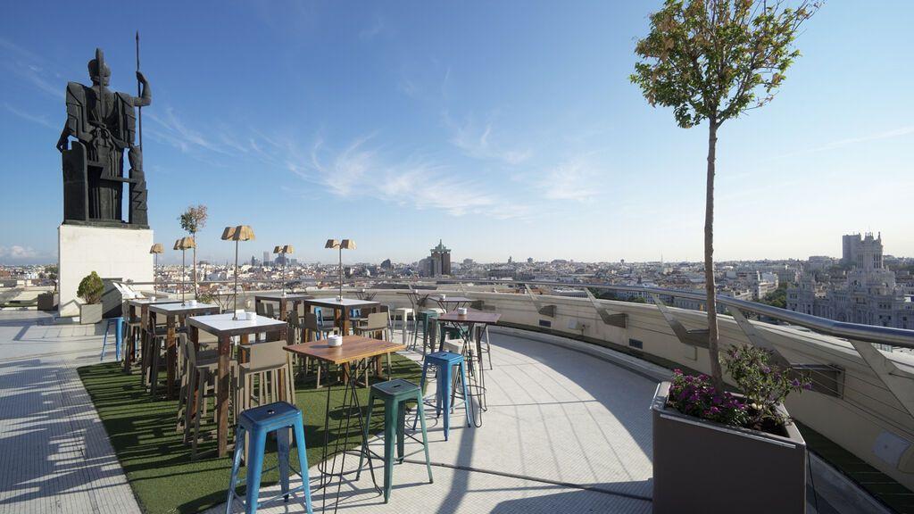 Diez terrazas con encanto en Madrid