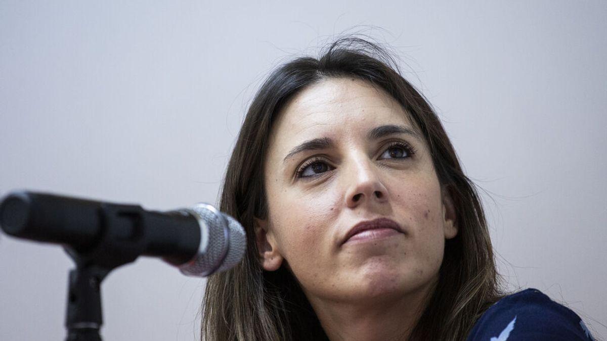 """Irene Montero: """"Si Juana Rivas ingresa en prisión va a ser un escándalo para el movimiento feminista"""""""