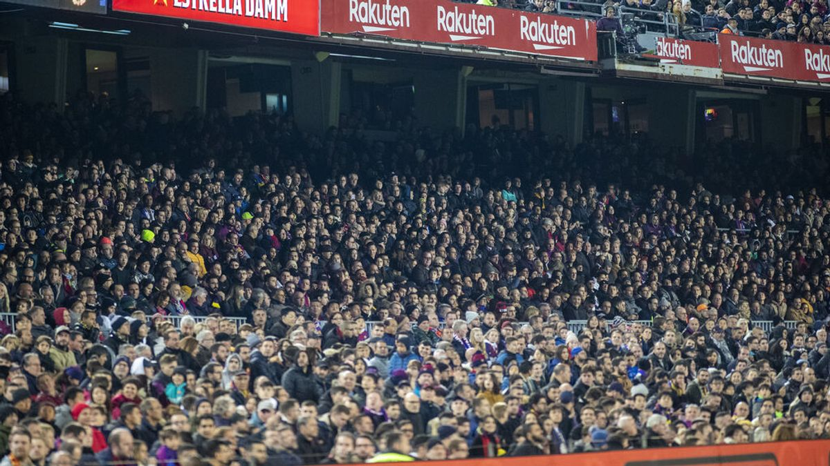El peligro de contagio por asistir de público a un partido de fútbol:
