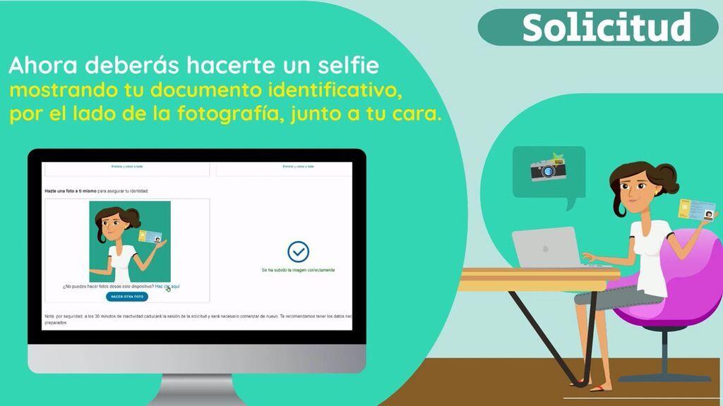 Cómo utilizar tu selfie para los trámites de la Seguridad social