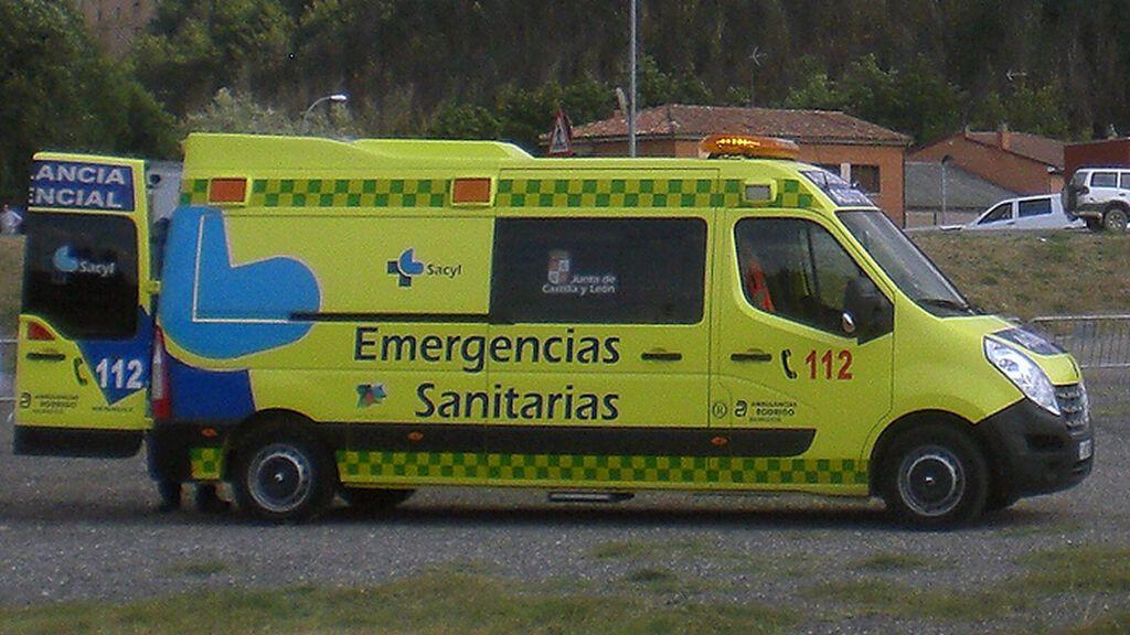 Hallan a un ciclista muerto en una cuneta muy cerca de Gama, en Palencia
