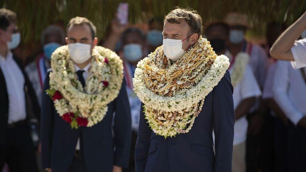 La visita de Macron a Polinesia