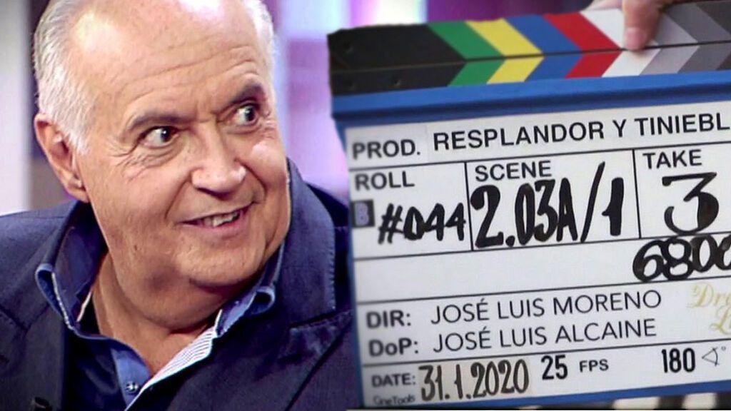 José Luis Moreno pide audiencia al Papa Francisco para enseñarle su serie 'Resplandor y tinieblas'