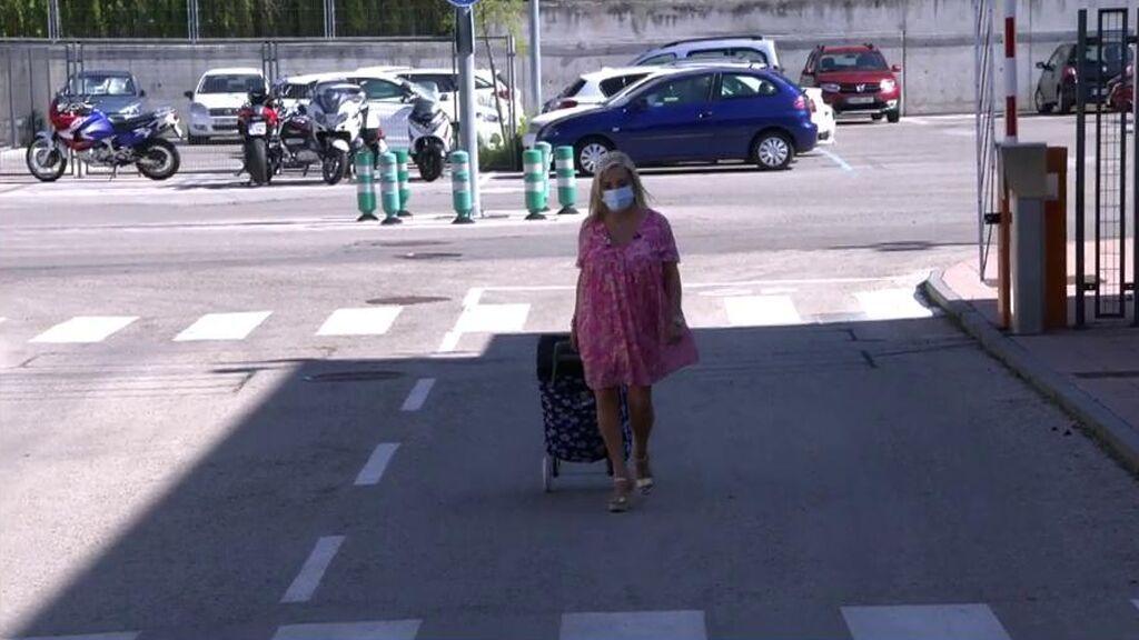 La llegada de Carmen Borrego a 'Sálvame'