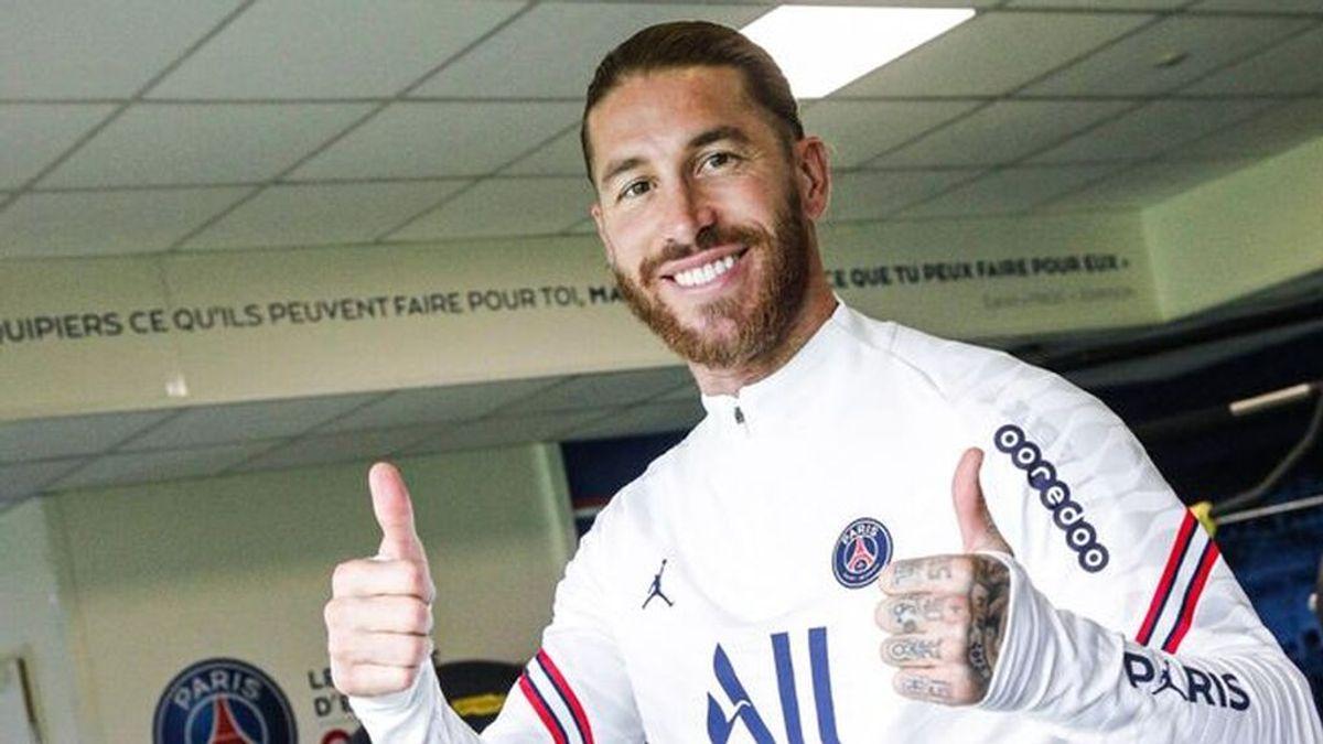 La nueva lesión de Sergio Ramos no impacienta en el PSG: confían en que será el jefe de la defensa cuando esté a tope
