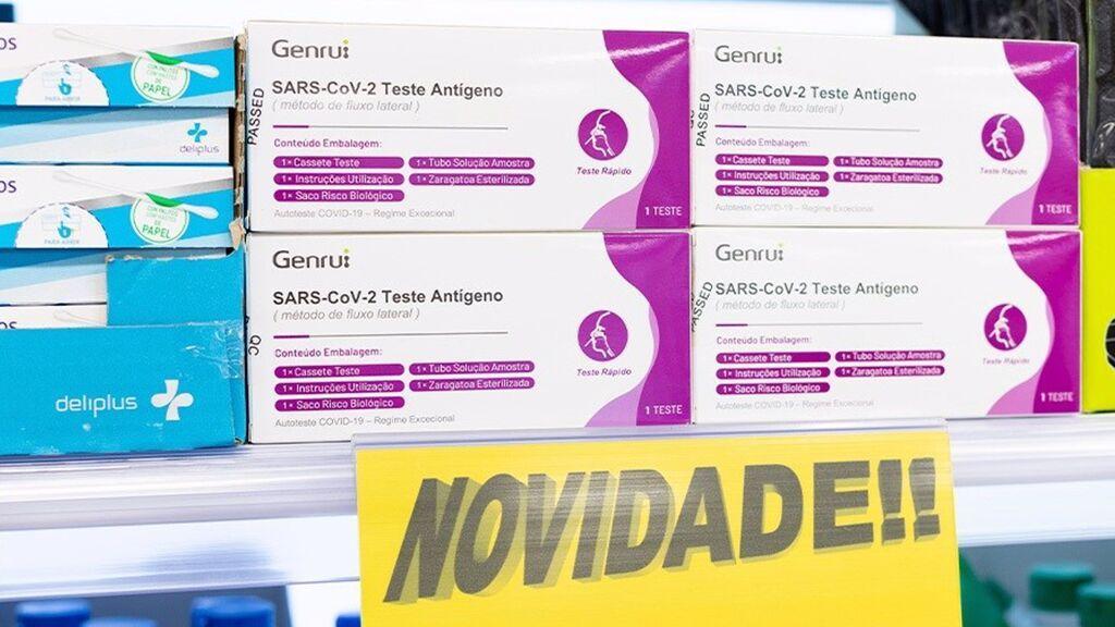 Mercadona empezará a vender test rápidos de antígenos en sus supermercados de Portugal este viernes