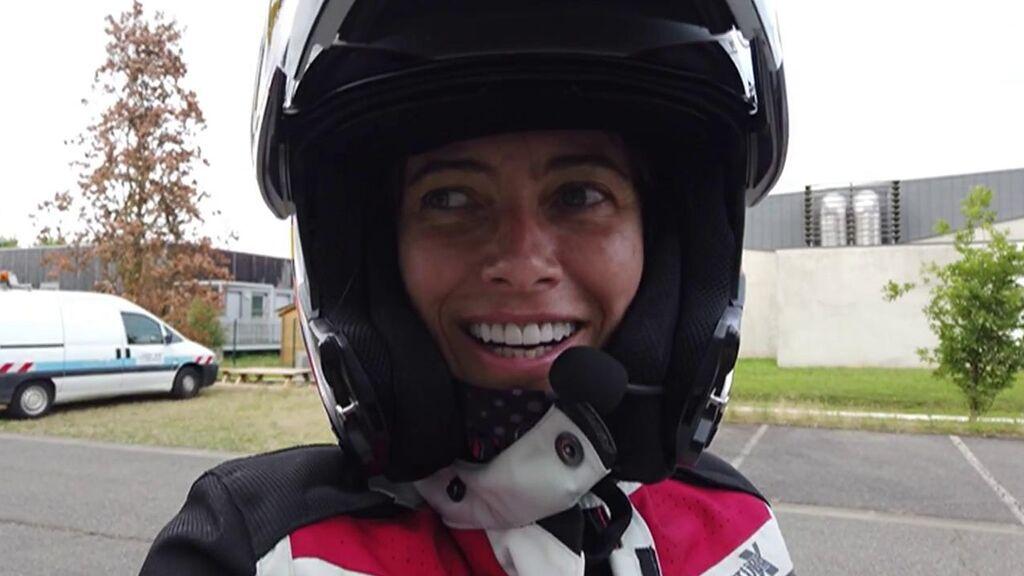 El nuevo reto de Alicia Sornosa: viajar hasta Suiza en moto eléctrica para recaudar fondos contra el cáncer