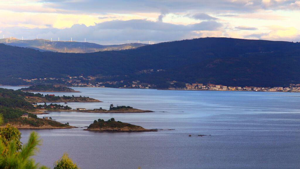 Ría de Muros, en A Coruña