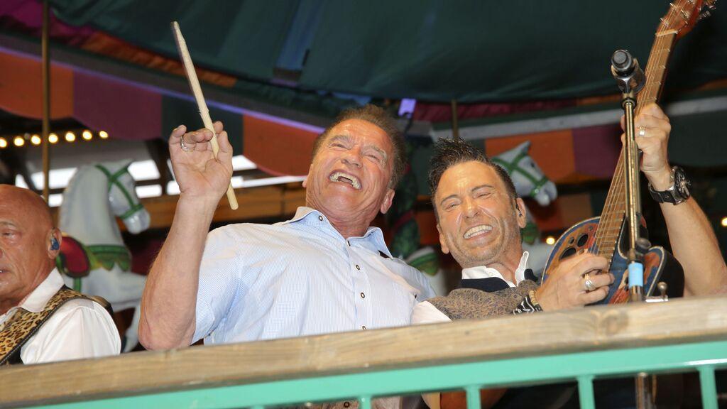 Arnold Schwarzenegger cumple 73