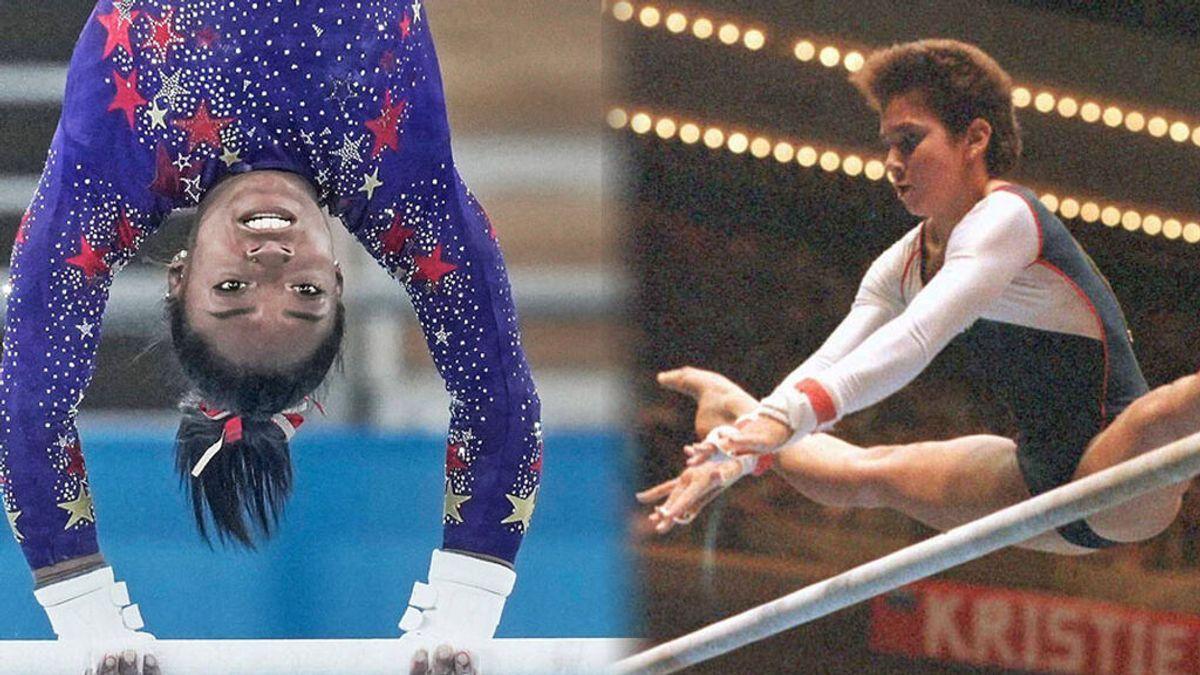 La historia de tres gimnastas que no pudieron retirarse para proteger su salud, como hizo Simone Biles