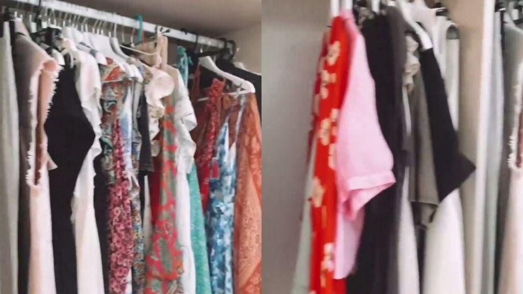 Rocío Flores muestra por primera vez su nuevo vestidor