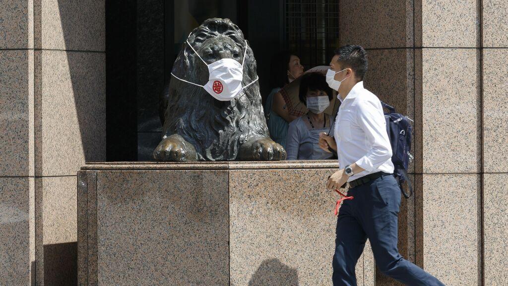 Récord de casos de covid en el Japón de los Juegos Olímpicos