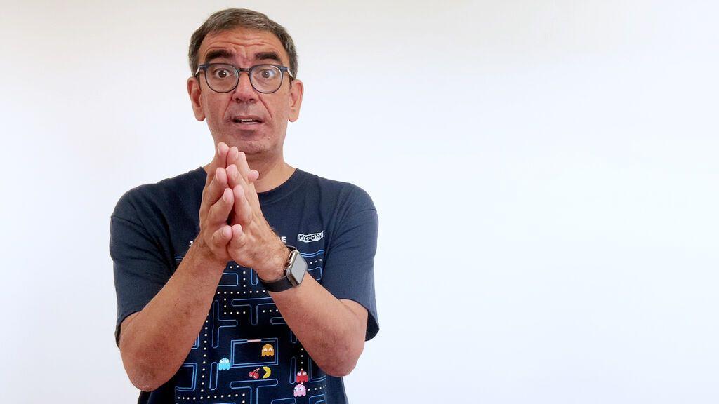 Científico en el supermercado: ropa solar
