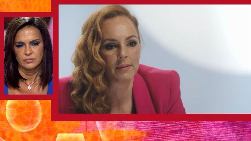 """Olga reacciona al """"No tiene coño"""" de Rocío Carrasco: """"Aunque hubiese sido como dice, yo..."""""""