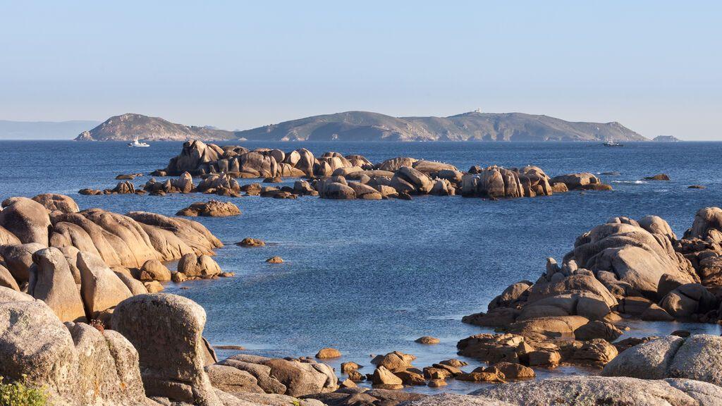 San Vicente do Mar, en la Ría de Pontevedra.