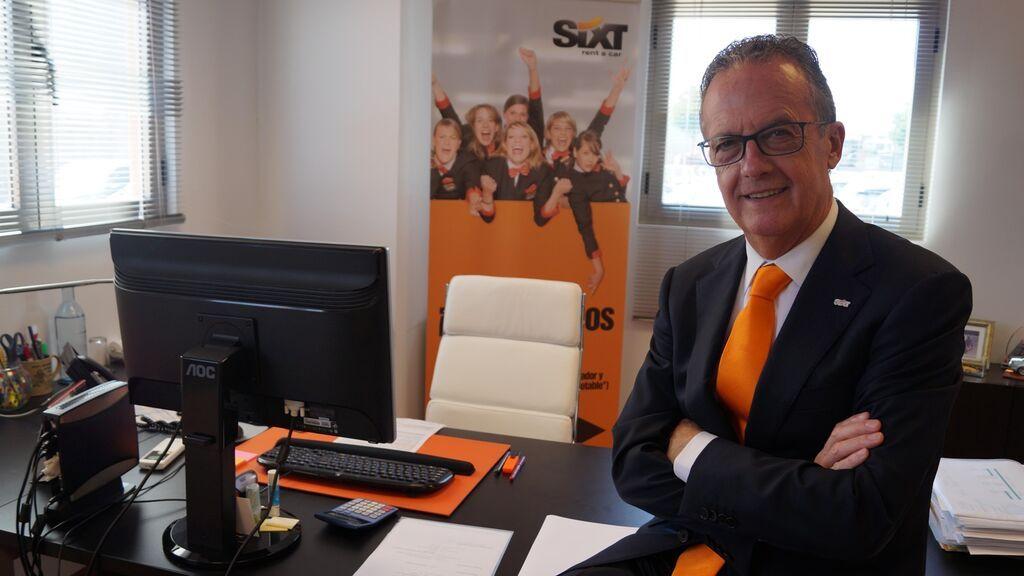 "De Mata, director Sixt rent a car: ""Para nosotros 2022 debe ser el año de estar en marcha al 100%"""