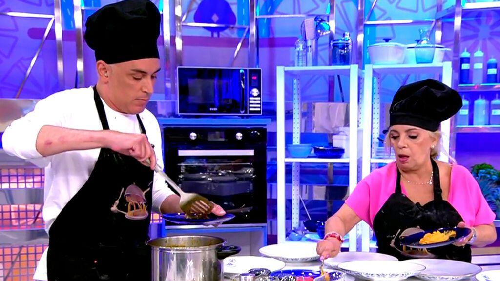 Carmen Borrego abandona el plató entre gritos a Kiko Hernández La última cena Temporada 2 Programa 12