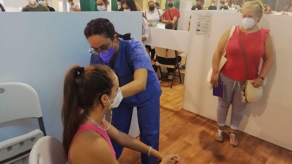 Andalucía comienza la vacunación de menores de 16 y 17 años