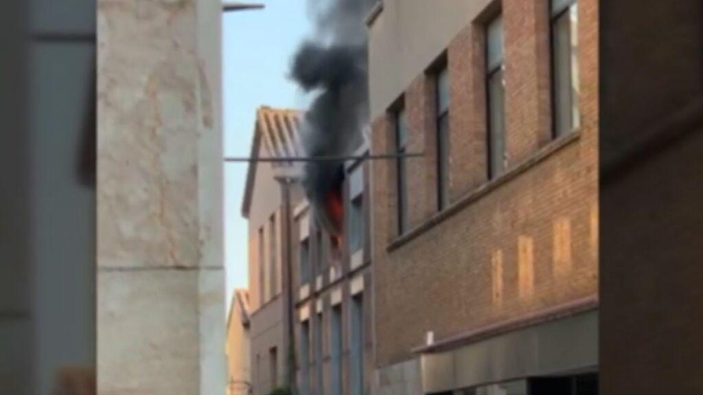 La niña de 4 años fallecida en un incendio en Terrassa estaba sola en casa con la puerta cerrada con llave