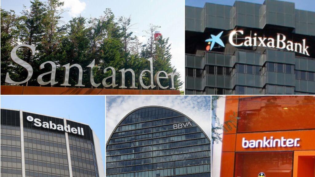La gran banca logra ganancias de 8.200 millones en el primer semestre