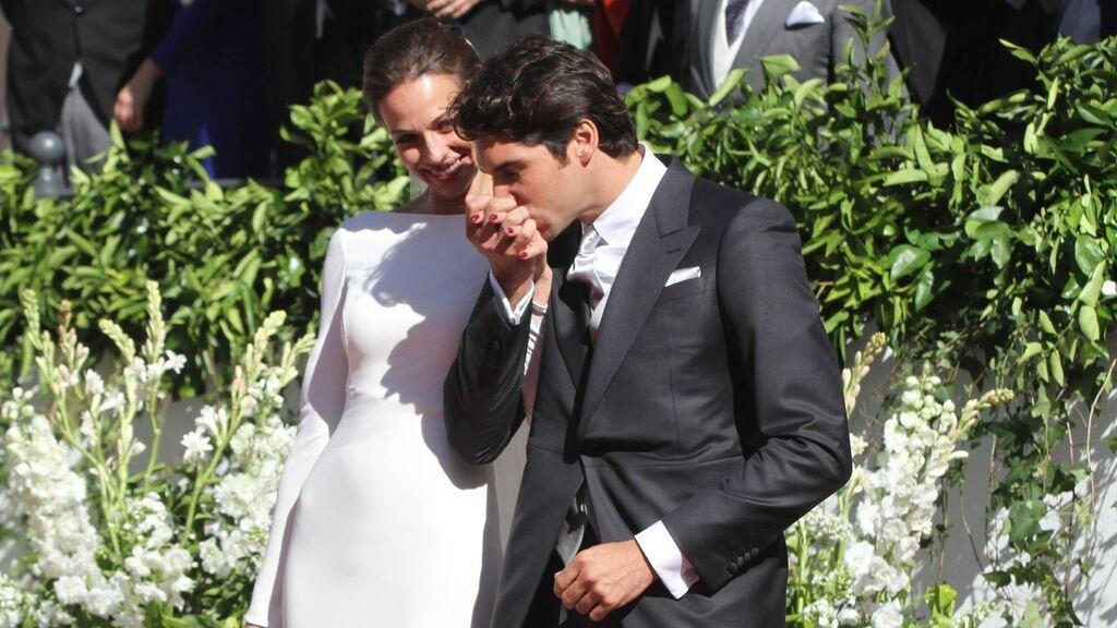 La boda se celebró en la ciudad natal de la presentadora, en Mairena del Alcor.