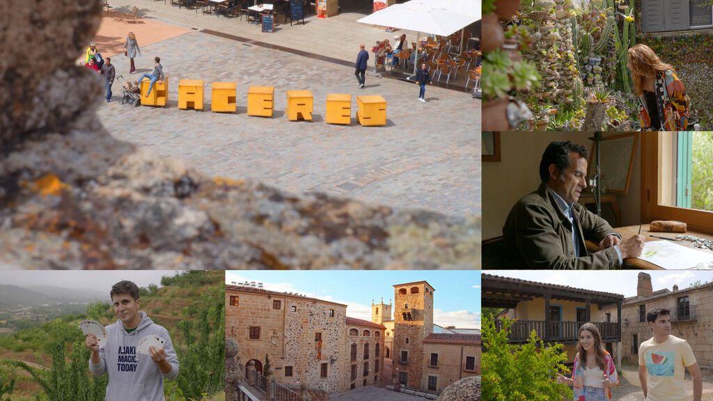 Escenarios épicos de 'Juego de Tronos', villas medievales y valles mundialmente conocidos: 'Viajeros Cuatro' llega a Cáceres