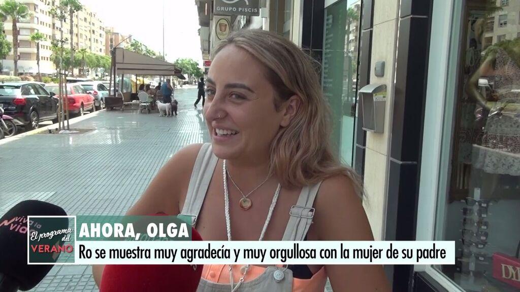 Rocío Flores defiende a Olga y se ríe cuando le preguntan por su madre
