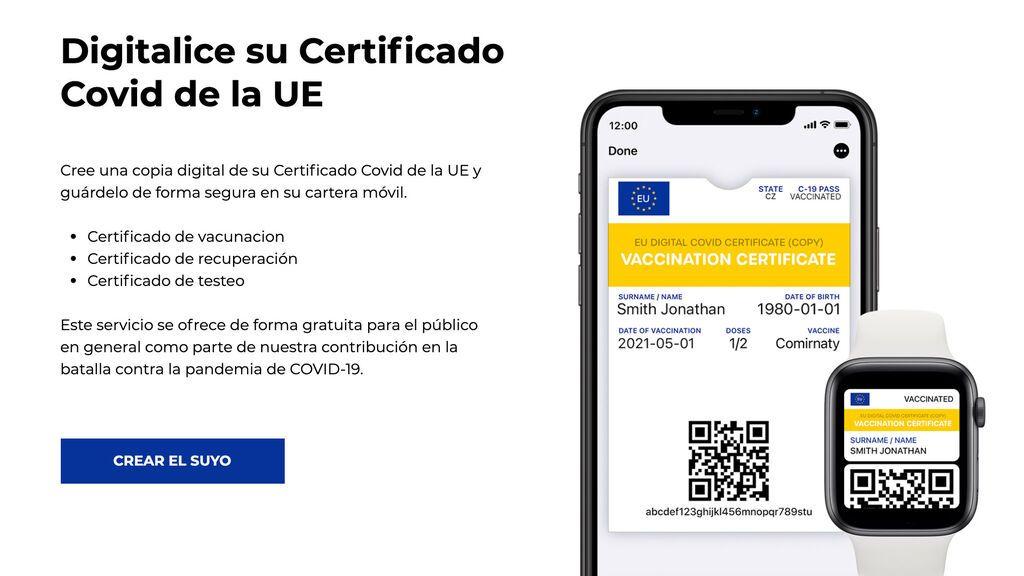 Cómo añadir tu certificado covid en Apple Wallet o Google Pay para tenerlo más a mano
