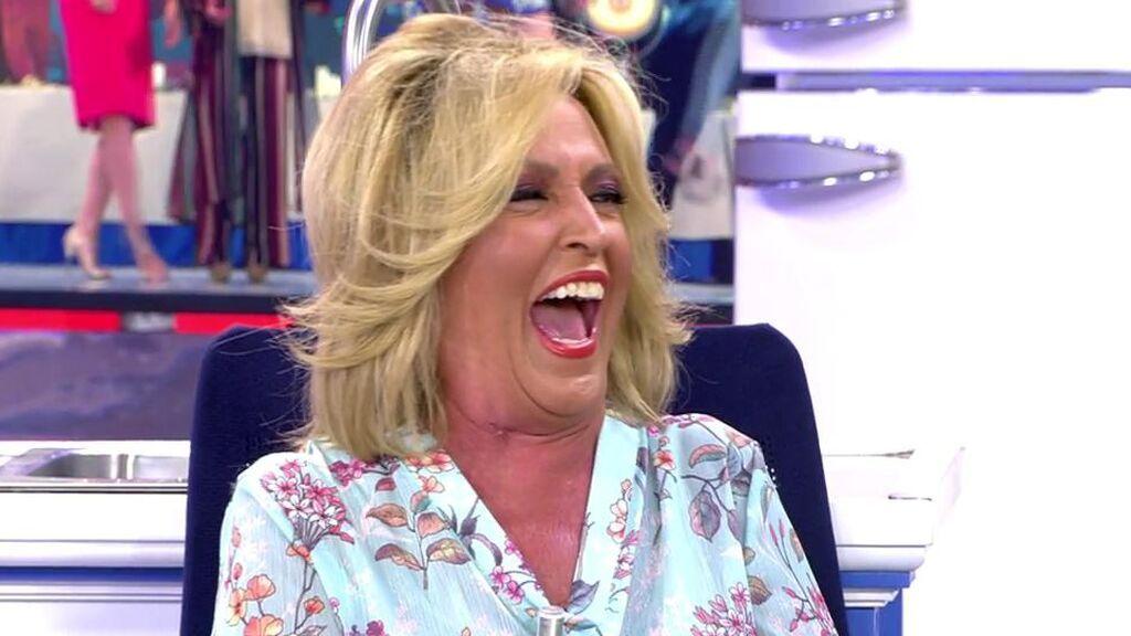 Ataque de risa de Lydia Lozano