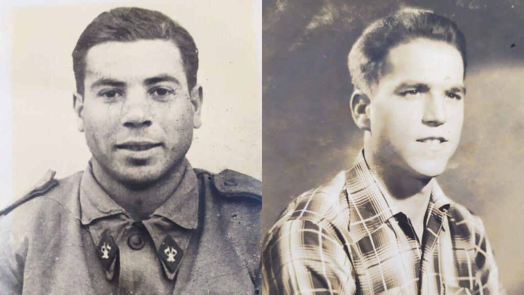 Dos amigos de la mili se reencuentran 64 años después gracias a las redes sociales