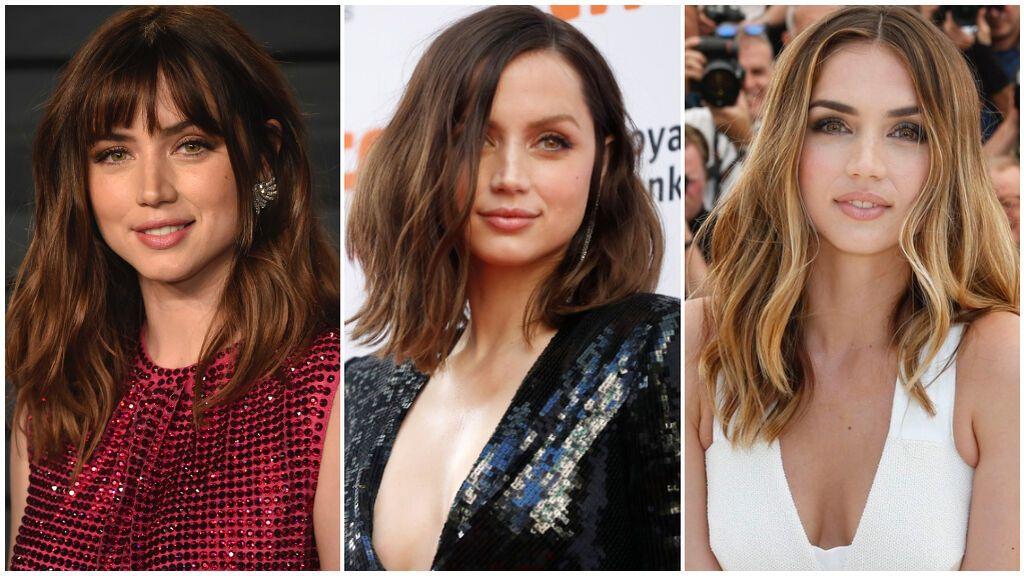 Todos los cortes de pelo de Ana de Armas que triunfaron: desde el corte Bob y la melena midi hasta su cabello más largo.