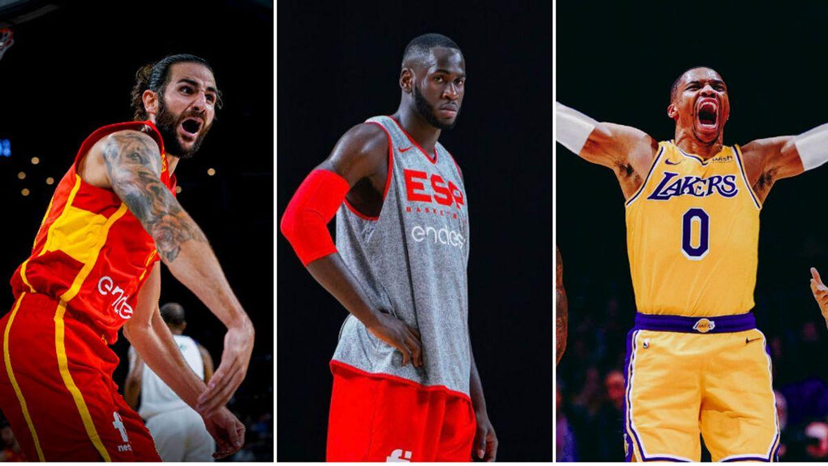 Noche de locura en la NBA: Garuba y Aldama, drafteados, Ricky Rubio a Cavaliers y Westbrook a Lakers