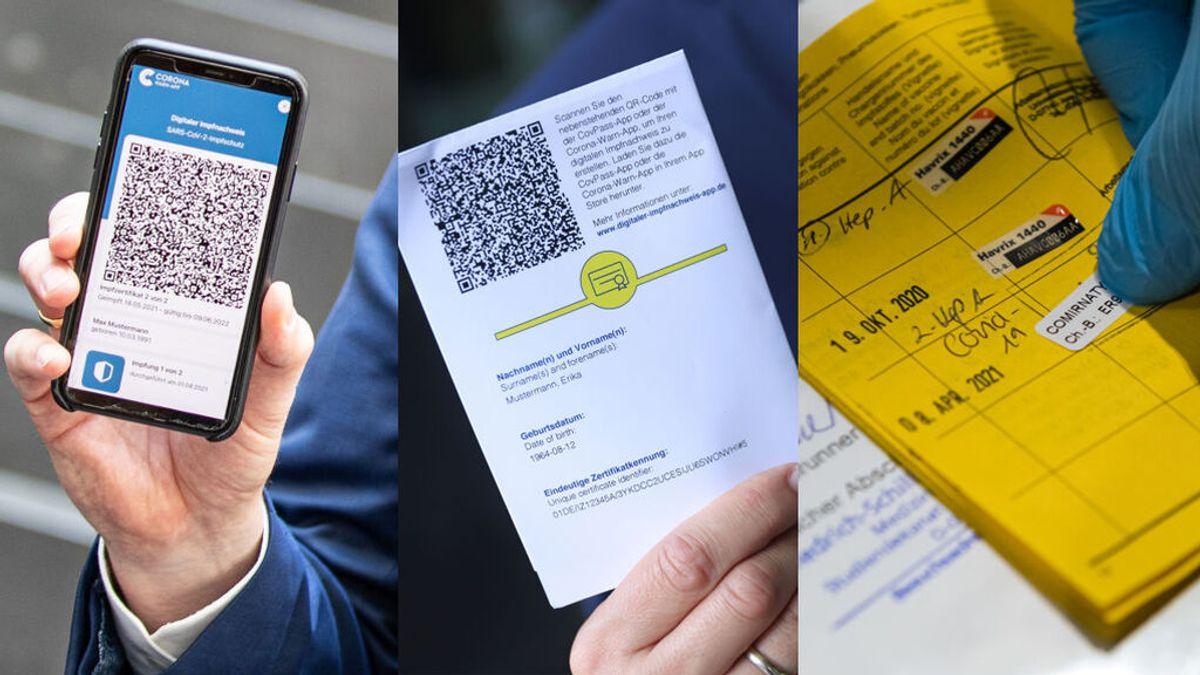 El caos de los pasaportes o certificados covid de vacunación, ¿cuántos hay y dónde obtenerlos?