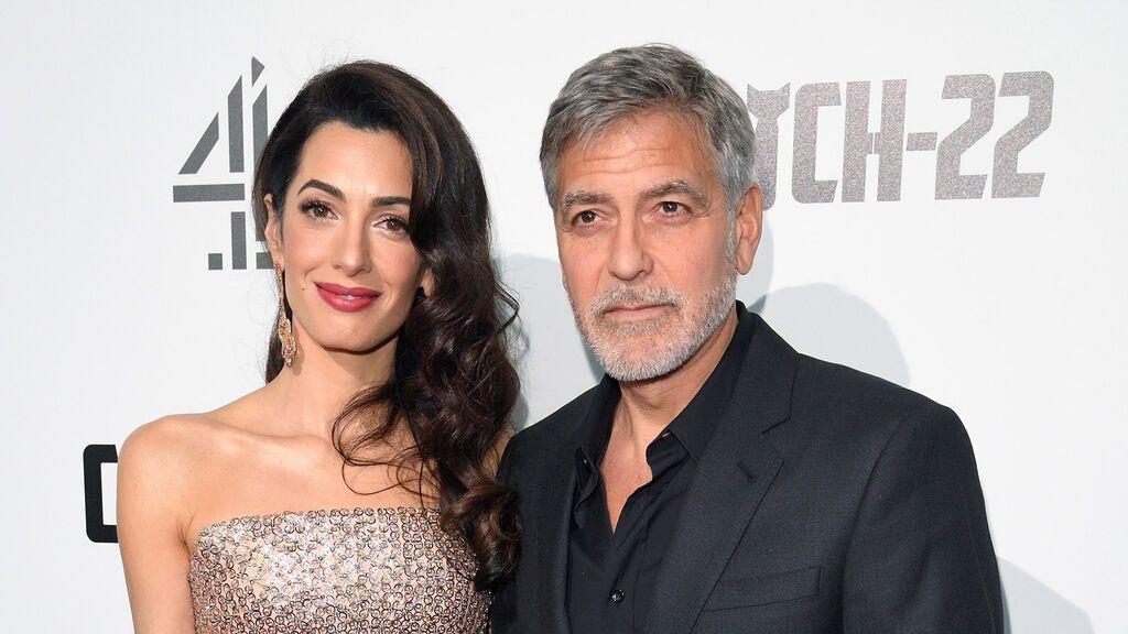 George Clooney y su mujer Amal van a ser padre: la pareja está esperando gemelos