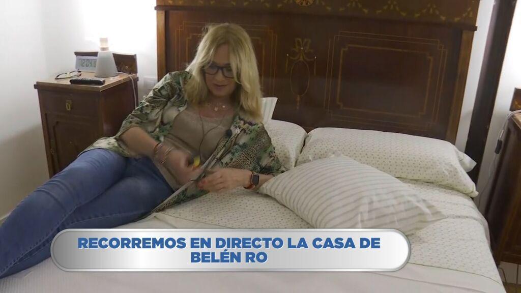 Belén Rodríguez nos enseña su casa hasta el último rincón y nos muestra su juguete más íntimo