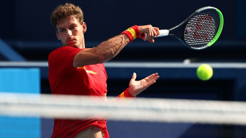 Pablo Carreño gana la medalla de bronce ante Djokovic (6-4, 6-7 y 6-3)