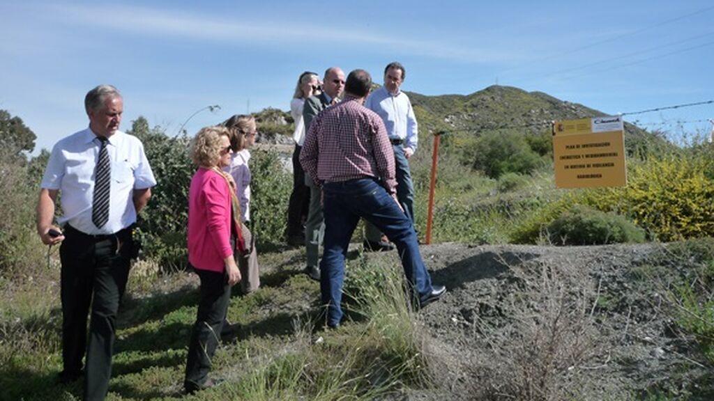 Gobierno traslada al Ciemat la competencia para limpiar la tierra contaminada con radiactividad en Palomares