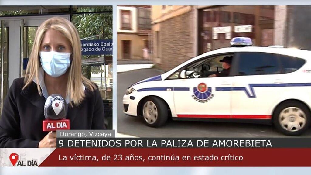 Noveno detenido por la brutal paliza a un joven de 23 años en Amorebieta