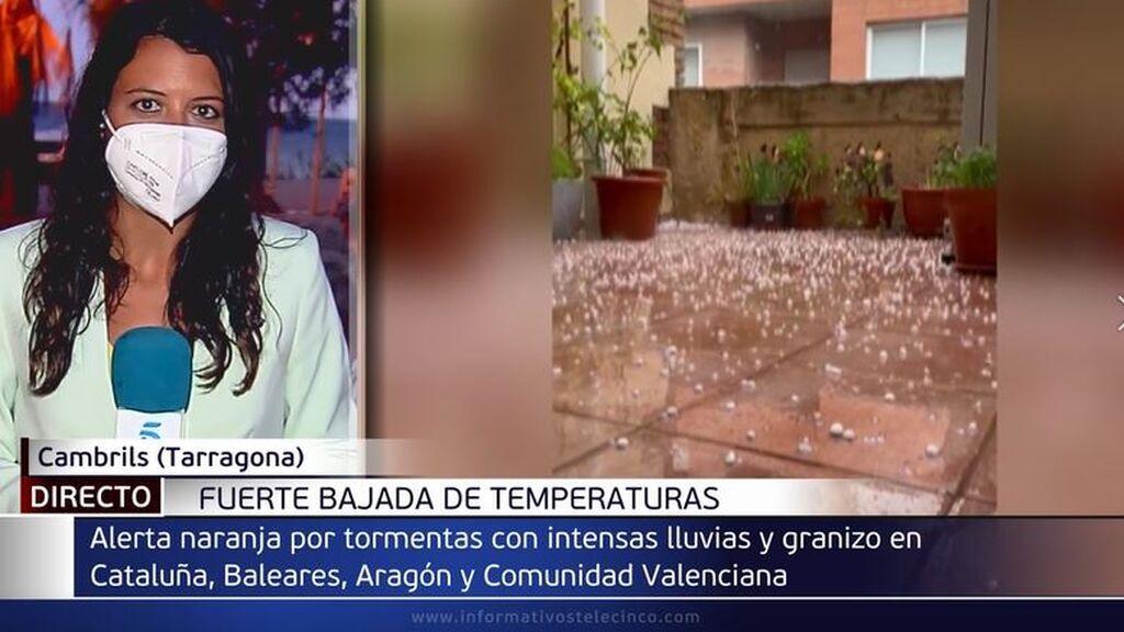 Fuerte bajada de temperaturas en toda España