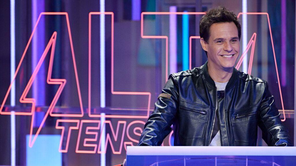 Telecinco estrena el concurso 'Alta Tensión': emoción, cultura, intuición, agilidad y un final de infarto, con Christian Gálvez como presentador