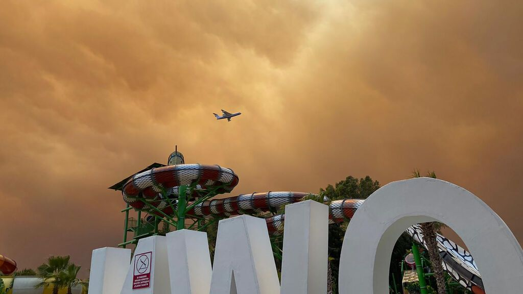 Erdogan declara el estado de desastre en las regiones de Turquía afectadas por los incendios forestales