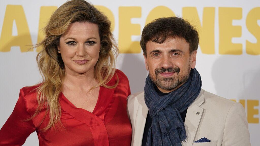 José Mota con su mujer, la también actriz cómica Patricia Rivas