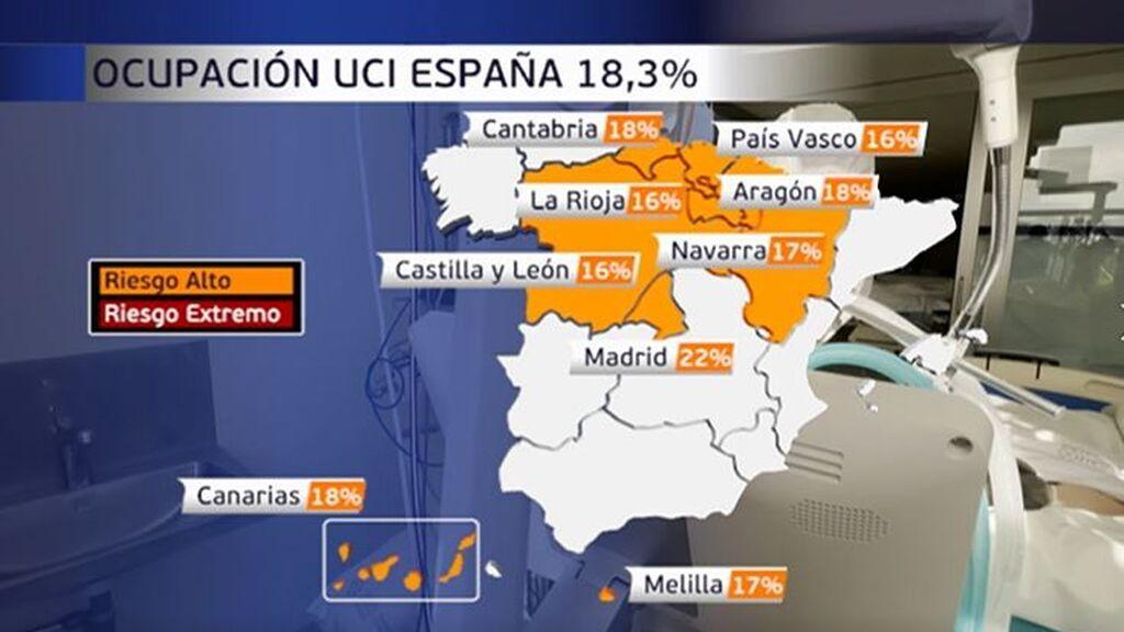 Los hospitales de Tenerife pasan por su peor momento de la pandemia: soportan un 29% de ocupación en UCI