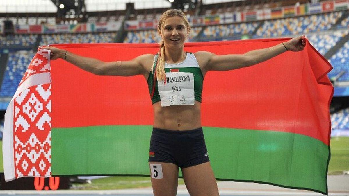 Una atleta olímpica bielorrusa denuncia que su país la obliga a dejar Japón