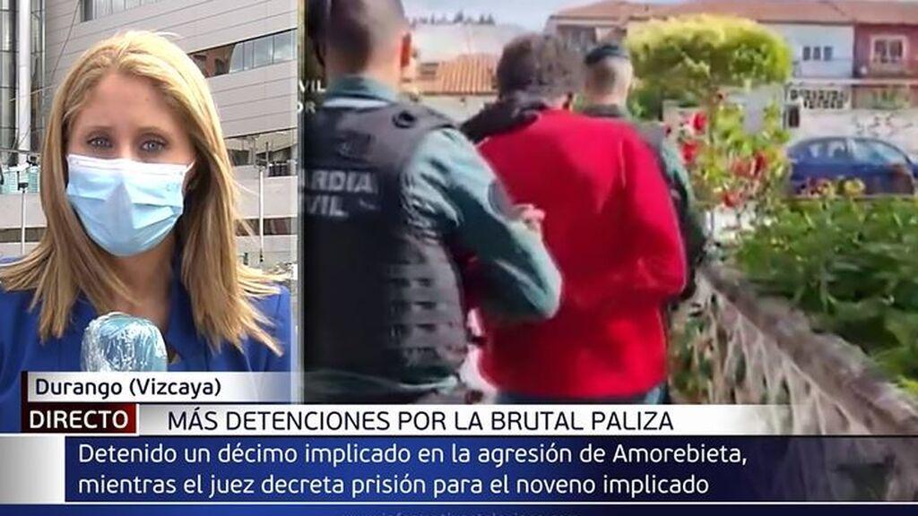 Prisión provisional para el detenido en Barakaldo por la paliza al joven de Amorebieta: hay un décimo detenido