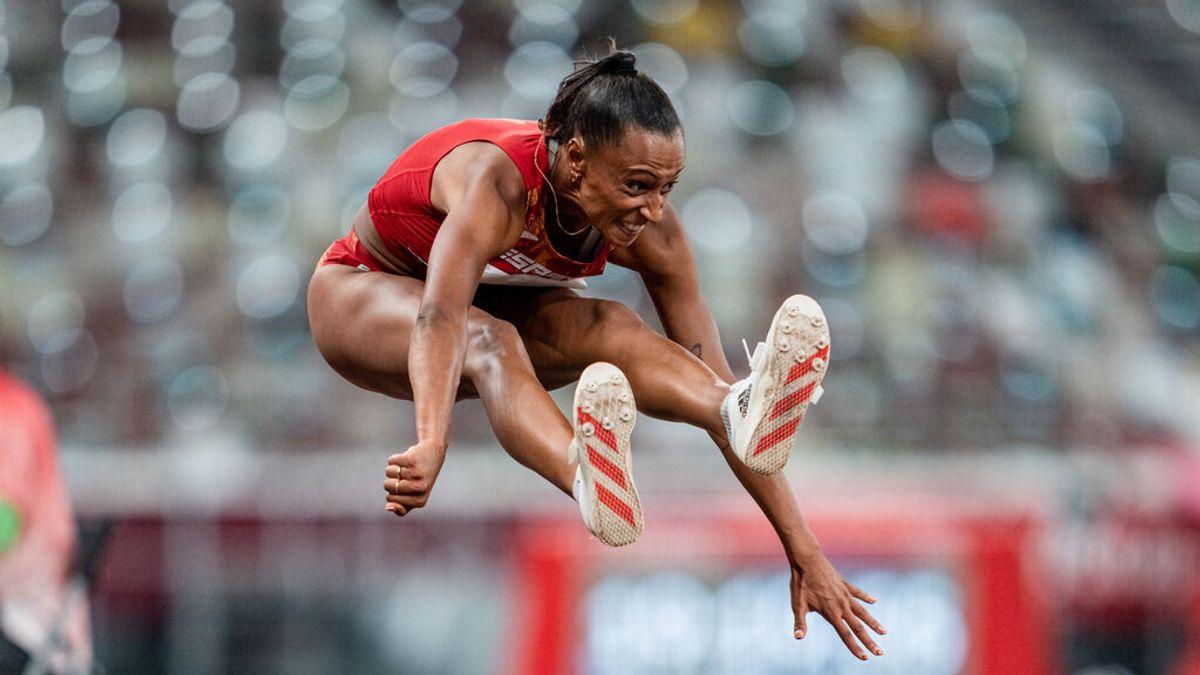 Ana Peleteiro, medalla de bronce en triple salto en Tokio 2020