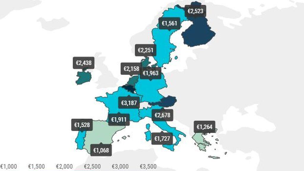 España y sus autovías sin peajes recaudan un 76% menos que Europa